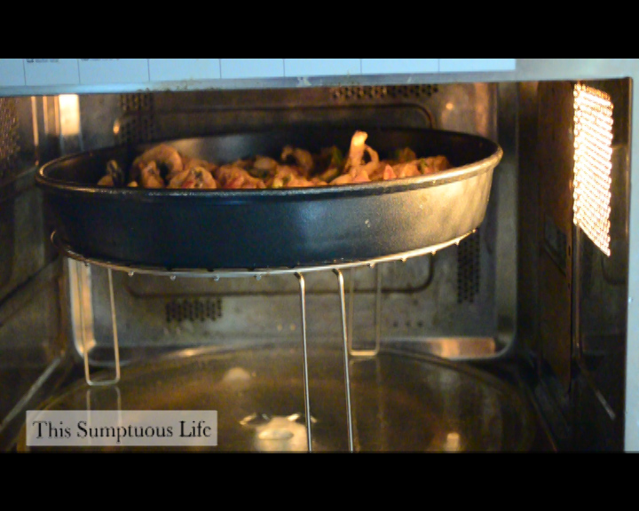 Cake Recipes In Grill Microwave Oven: Grilled Mushrooms How To Grill Vegetables In Microwave